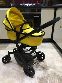 Dimples daisy 2 in 1 doll stroller and carrycot