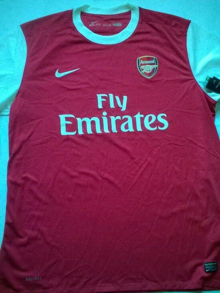 new photos 1b8e0 85a2e Nike Arsenal Short Sleeve Home Jersey 2010/2011 - Mens Size XXL | in Market  Drayton, Shropshire | Gumtree