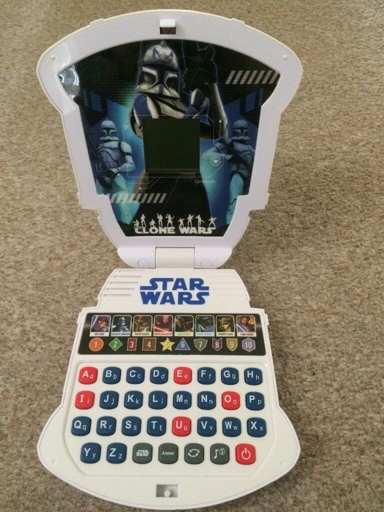 *STAR WARS * Learning laptop (Alphabet/Numbers)