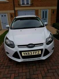 Ford Focus 1.0 Ecoboost Frozen White 40k miles Appearance Pack