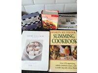 5 cook/recipe books