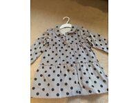 Girls 18-24 months M&S velvet coat