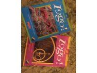 Logo 1 and 2 Learn German books