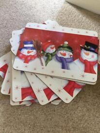 Christmas place mats