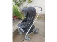 Joie Chrome Pushchair and Car Seat