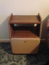 Retro bed side table