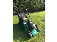 B&Q petrol push lawnmower