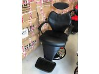 Barber Chair Salon Hydraulic Recline Beauty Spa Shampoo Black BX-2661,more than 100 available new uk