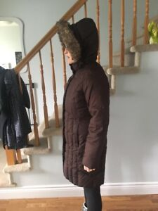 Eddie Bauer Down Filled Winter Jacket Parka