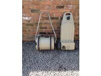 40Ltr Water Barrel and Waste container for Caravan