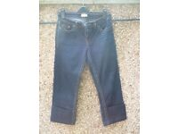 Ladies cropped rockabilly jeans for sale