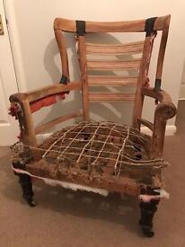 Victorian / Edwardian Armchair