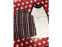 2yops one from miss selfudge 10,topshop 12