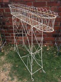 Antique Wire Planter