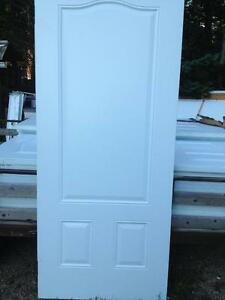 NEW Exterior Metal Doors 34 BY 80.Sackville nb.