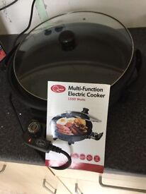 Quest multi function electric cooker