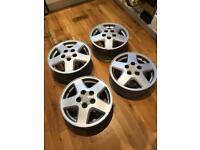 Toyota MR2 15 inch alloy wheels