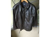 Leather gents Jacket