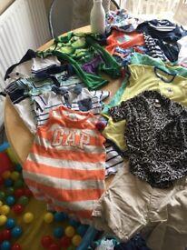 Baby boys summer clothes bundle 6-9 months