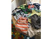 Baby boys summer clothes bundle 6-9 months