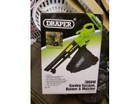 Draper 3000w Leaf Blower/Vacuum