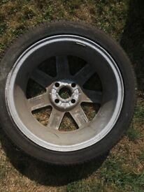 Spare Tyre with Rim, S-1063
