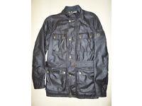 Belstaff Roadmaster Mens Medium Wax Jacket Black