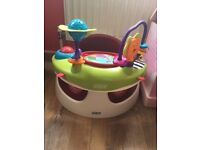 Mamas and Papas baby snug with play tray