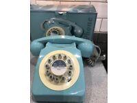 1960 Design classic British retro telephone push button