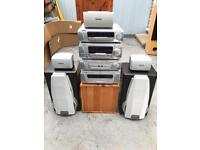 Technics surround sound stereo system
