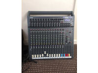 Soundcraft Spirit Folio SX 12 Channel Mixer, 12 Direct Outputs