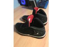 Jordan Jeter Captain UK 10 Size Black/Red