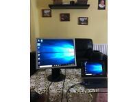 """NEC 20"""" inch monitor - DVI - VGA - perfect condition"""