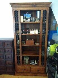 Sheesham Bookcase Display Unit