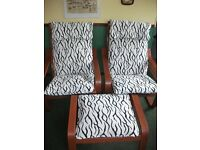 Ikea Poang Chair & Stool Covers