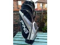 Ping golf bag.
