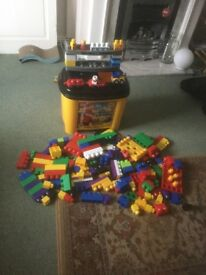 Mega bloks mixed set in very clean condition