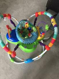 Baby Einstein jumper bouncer musical toddler baby stimulation colourful JOHN LEWIS