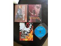 Robbie Williams music dvds