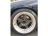 Rota Kyusha 5x114.3 17x9 ET0 mint Nissan Mitsubishi Toyota Honda skyline 200sx drift wheels alloys