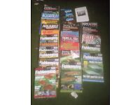 Vintage Practical Fishkeeping, Tropical Fish Hobbyist and reptile magazines