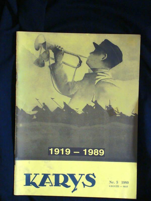 Lithuania Karys 32 issues Smetona era Fascist army mags