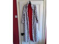 Cruella de Ville fancy dress coat