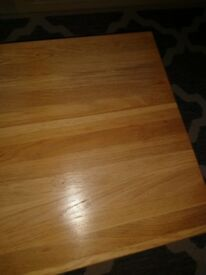 Small solid Oak coffee in mint condition £30