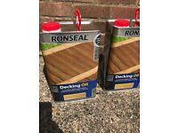 Ronseal decking oil