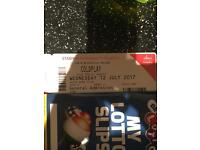 1x general admission Coldplay ticket