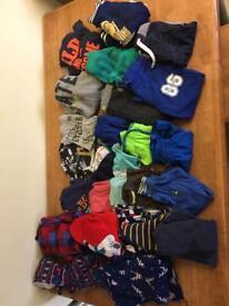 Bundle of boys clothes age 4-5 & 5-6