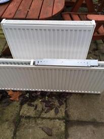 Double radiators various sizes