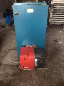 Oil fired boilers and burners supplied and fitted with warranty vgc £400