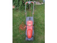 Flymo electric rotary lawnmower
